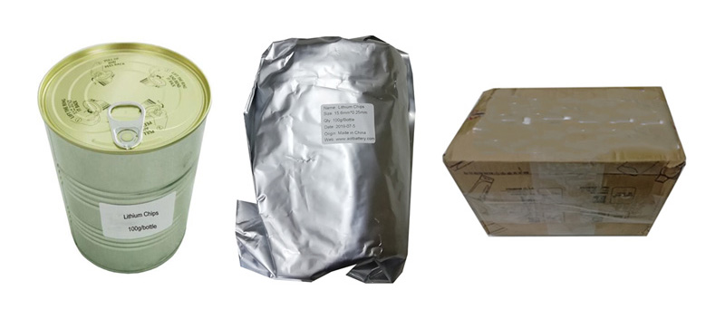 Lithium Chips safe Packing
