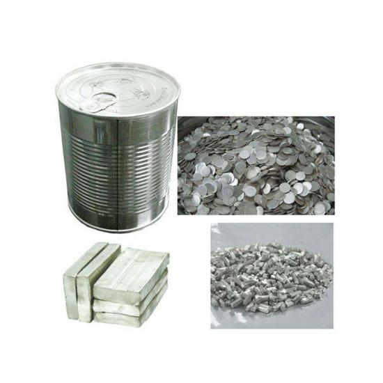 Lithium Metal Chips for Coin Cell