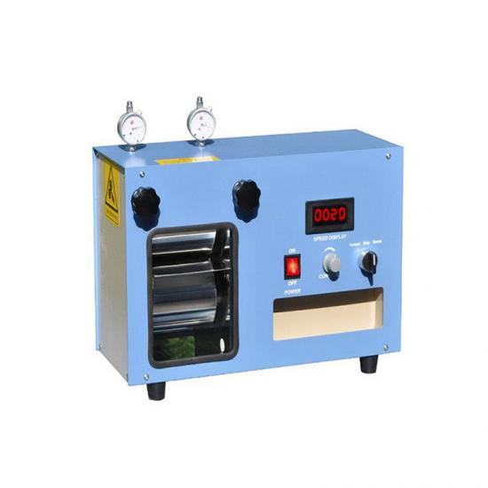Heat rolling press machine